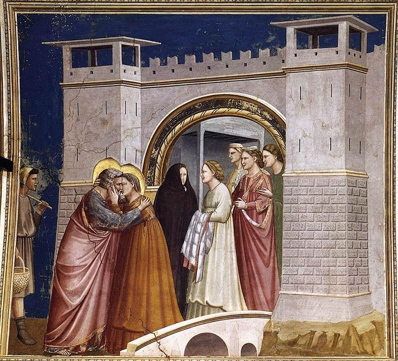 L'Incontro di Anna e Gioacchino alla Porta d'Oro è un affresco di Giotto, databile al 1303-1305 circa e facente parte del ciclo della Cappella degli Scrovegni a Padova.