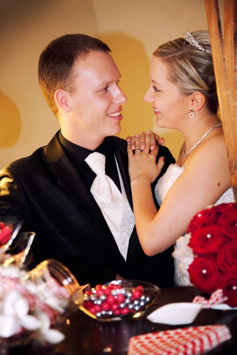 Hochzeitsfotos Braut und Bräutigam