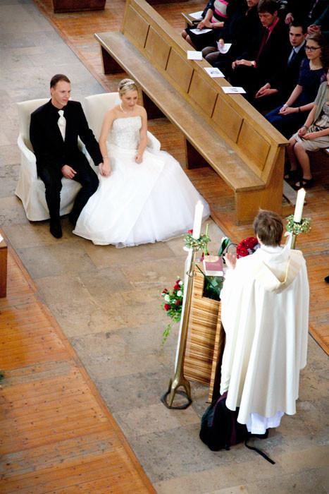 Foto vom Brautpaar