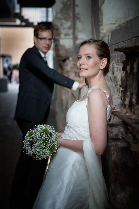 Hochzeitsfotos im Factory-Hotel in Münster