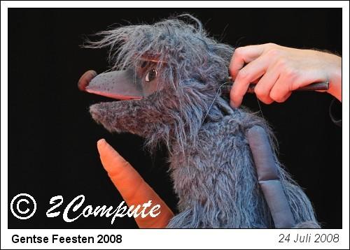 Puppetbuskersfestival Gent, Belgien