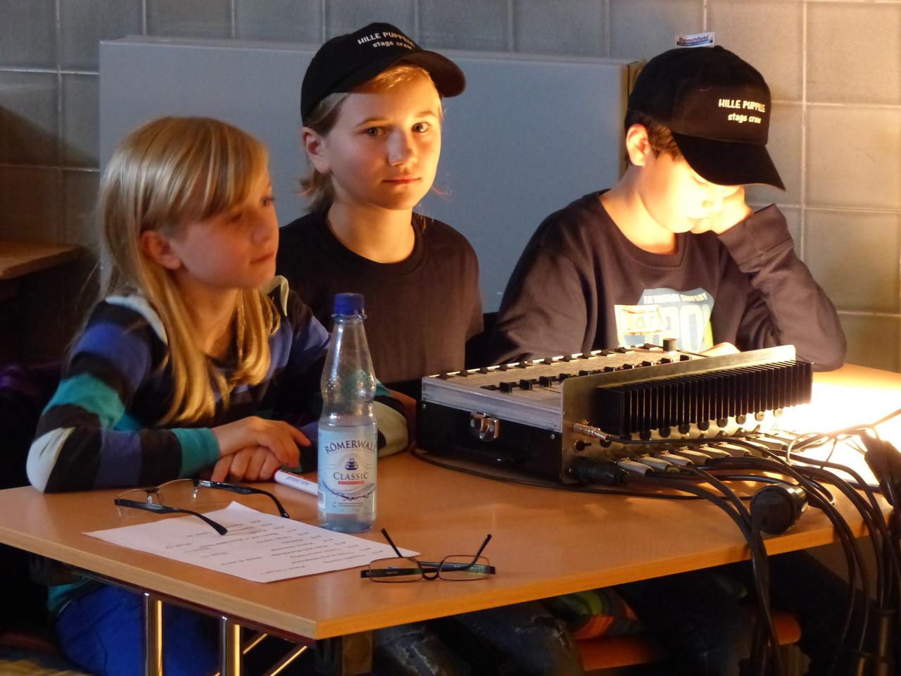 Arbeitsplatz Lichttechnik, Foto:Falley