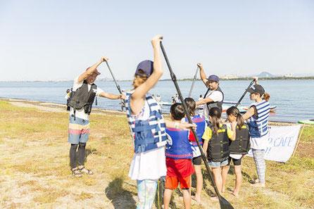 滋賀 琵琶湖 SUP サップ