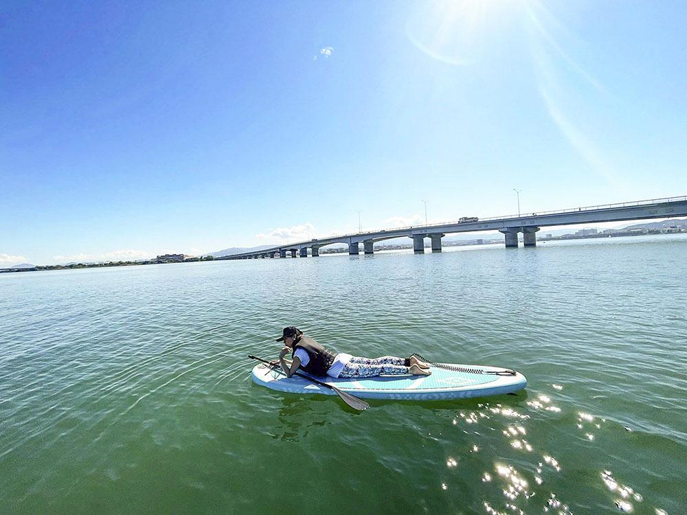 滋賀 琵琶湖 SUP体験!