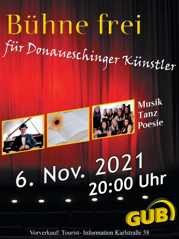 Bühne frei! für Donaueschinger Künstler