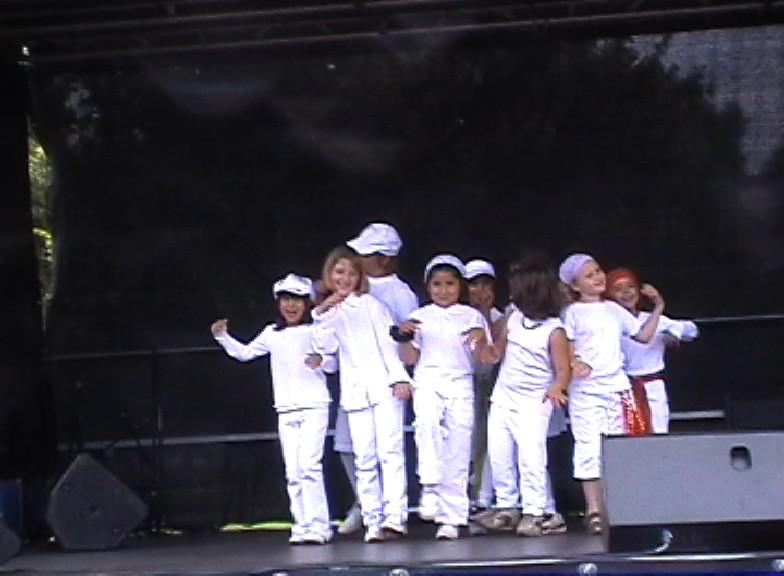 Auftritt Schlosspark 2008
