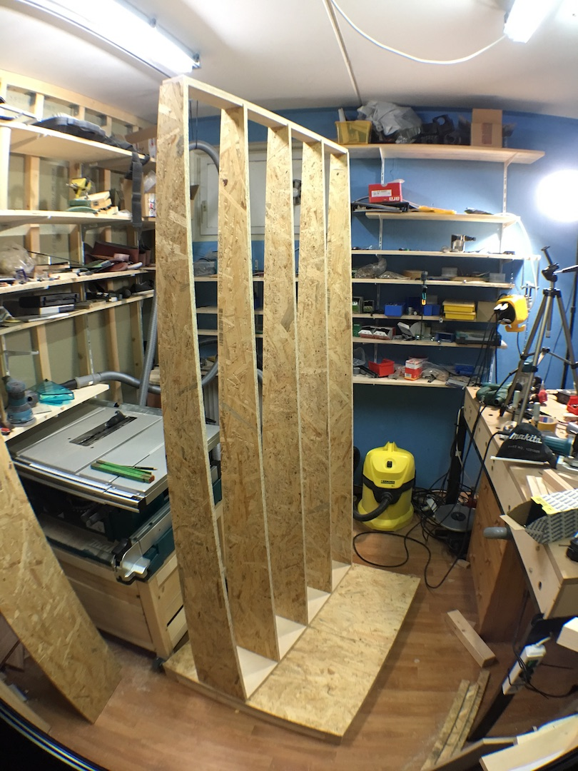 This is a snap during the build (see my video for the complete build)