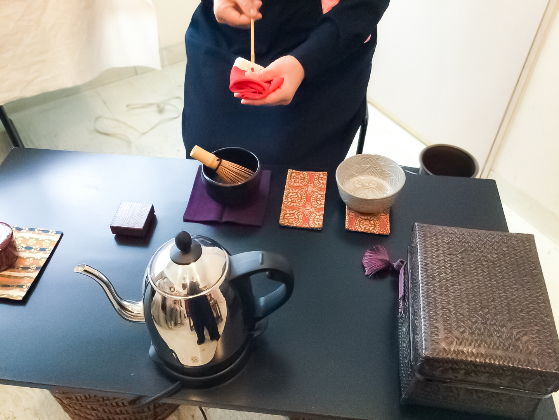 7月の「暮らしの中のお茶時間」