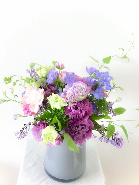 花と遊ぶ 〜初夏の花束〜