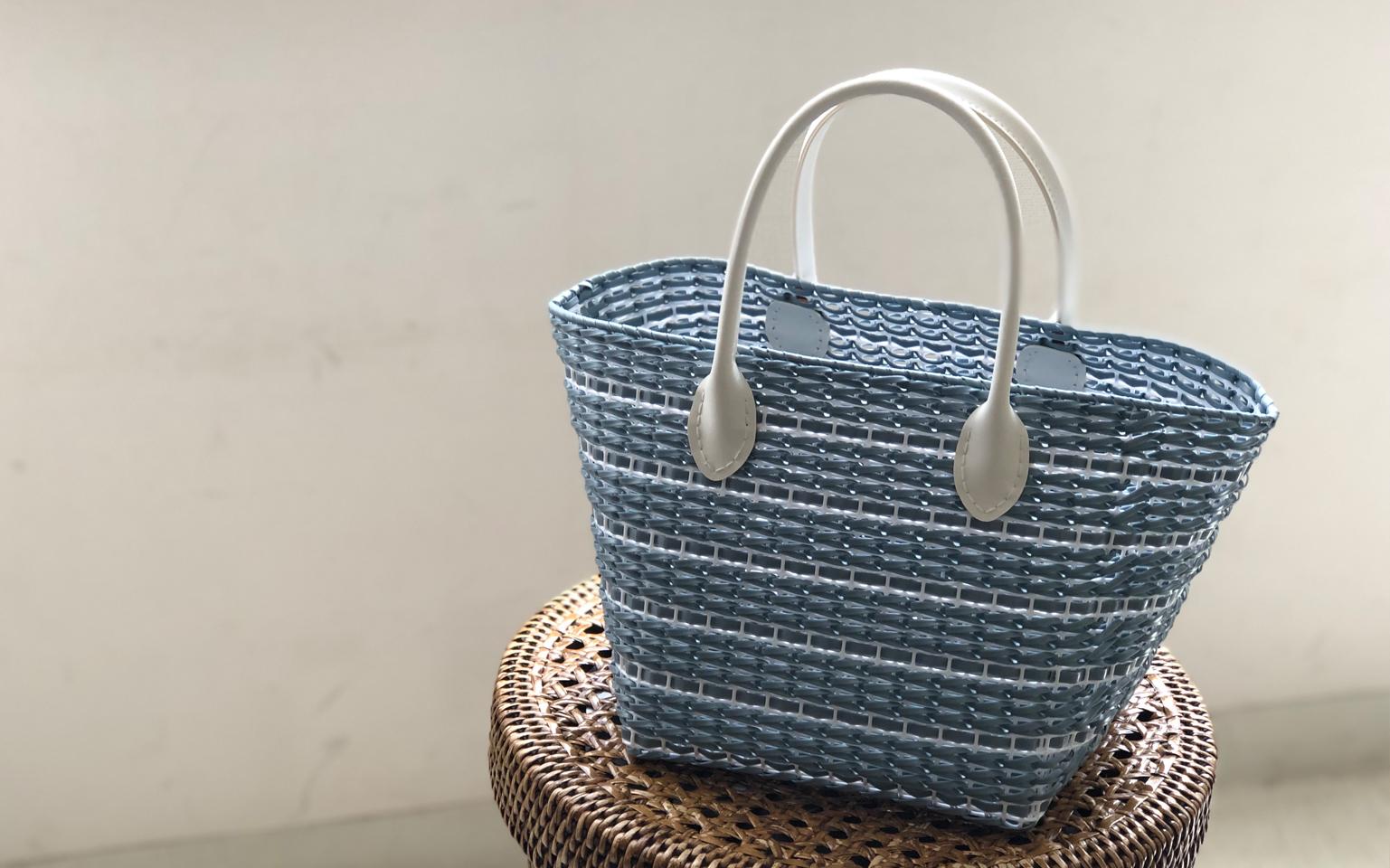 編み込みバッグ