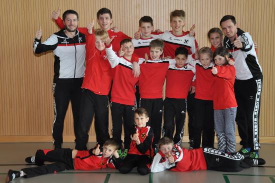 Die erfolgreiche Mannschaft in Kriessern