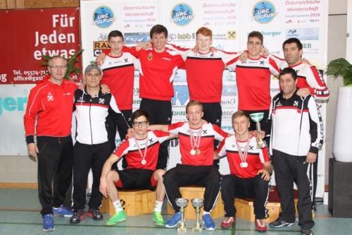 Unser erfolgreiches Team in Wolfurt
