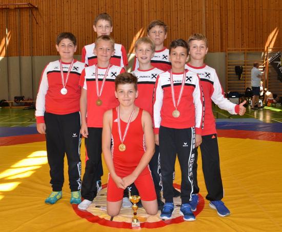 Die erfolgreiche Mannschaft des RSCI in Götzis