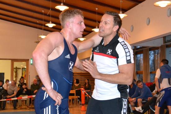 Thomas Krug stellte Lukas Gastl für die Meisterschaft optimal ein