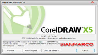 corelDRAW Graphics X5
