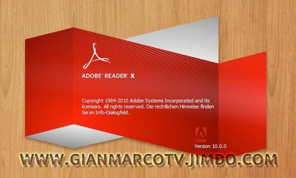 Adobe Reader X v10.0.1 Español