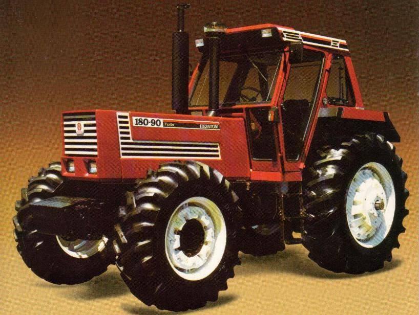Hesston 180-90 DT