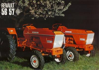 Renault 56 Traktor und Renault 57 Traktor