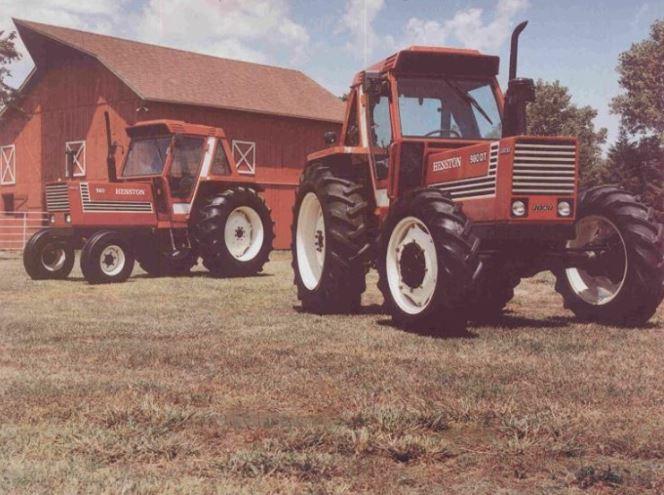 Hesston 780 und 980 DT