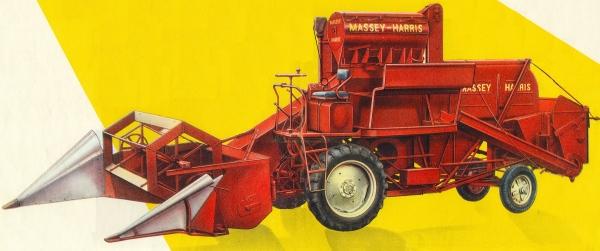 Massey Harris 780 Mähdrescher