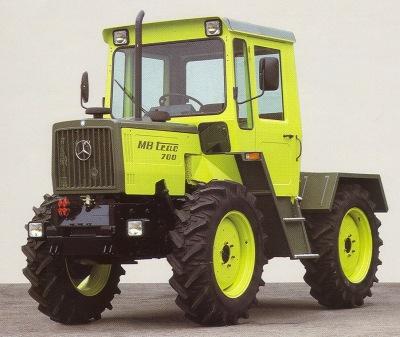 MB trac 700