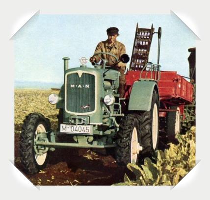 MAN T ! Traktor