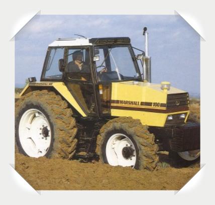 Marshall 100 Traktor