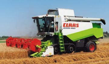 Claas Lexion 460 TerraTrac