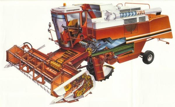 Fiatagri 3750 Mähdrescher