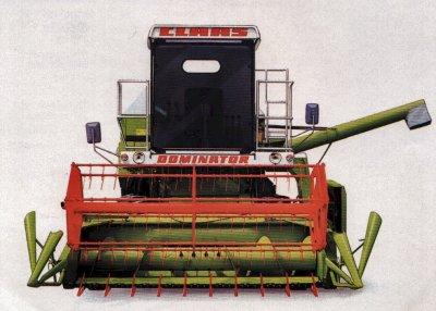Claas Dominator 48