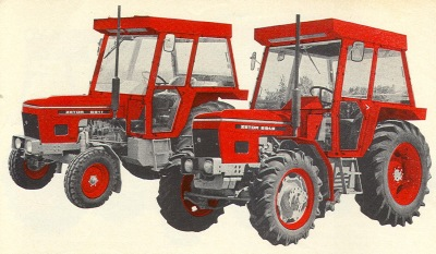 Zetor 6911 & 6945