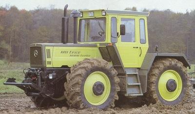 MB trac 1600 Turbo