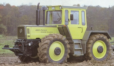 MB trac 1600 Turbo