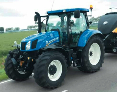 New Holland T6.120-T6.175
