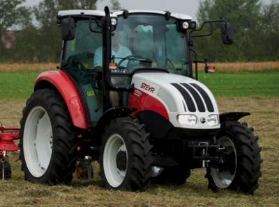 Steyr 4055 Kompakt S–4115 Kompakt