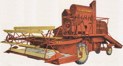 Massey-Harris Super 21 Mähdrescher