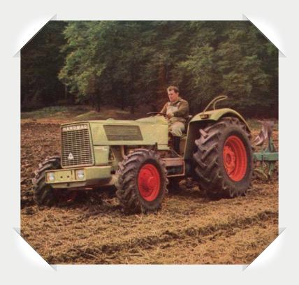 Hanomag Brilliant Traktor