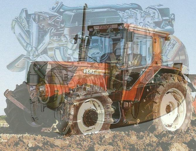Fiatagri F130 Turbo Traktor