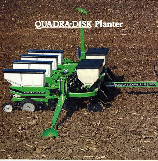 Deutz-Allis Seeder  (Quelle: SDF)