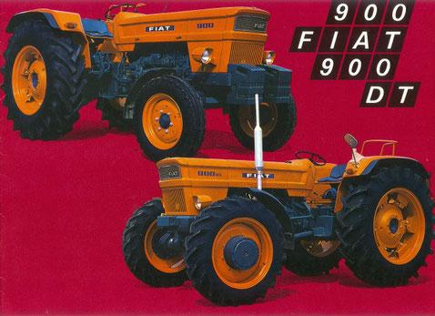 Fiat 900 DT 6-Zylinder Traktor