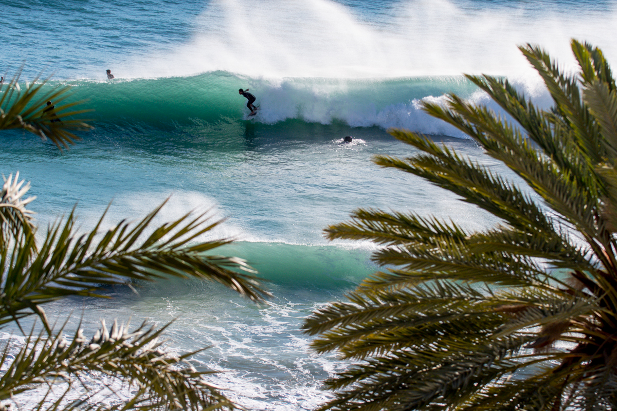 South west swell