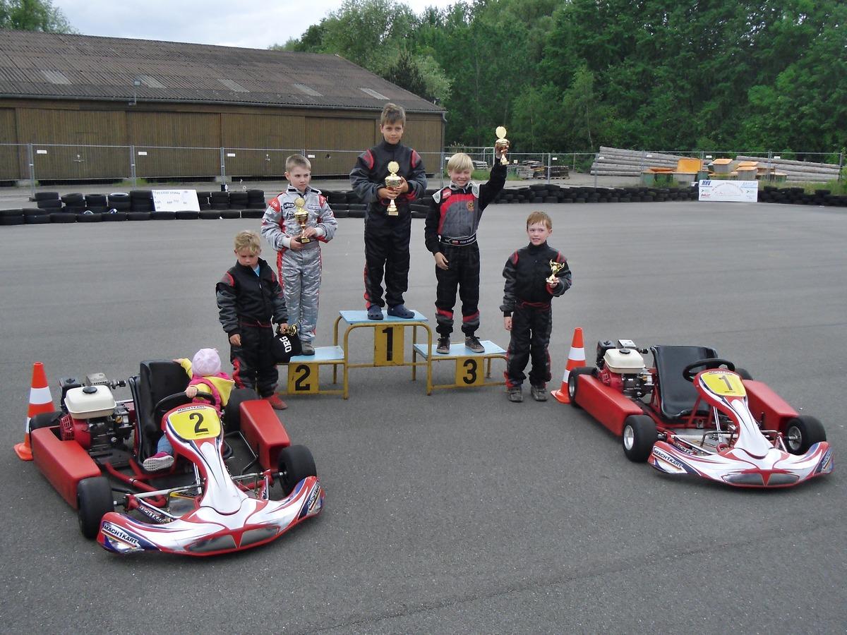 Auch in Schwerin siegte Norick Meyer in der ersten Klasse