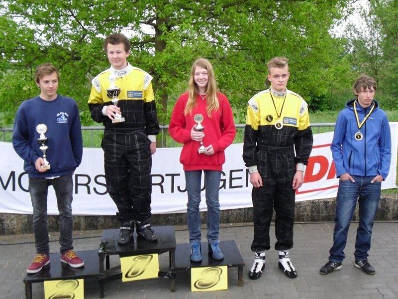 In Klasse 4 erfuhr Janica Schlüer gegen die dominante Jungenkonkurrenz einen beachtlichen dritten Rang