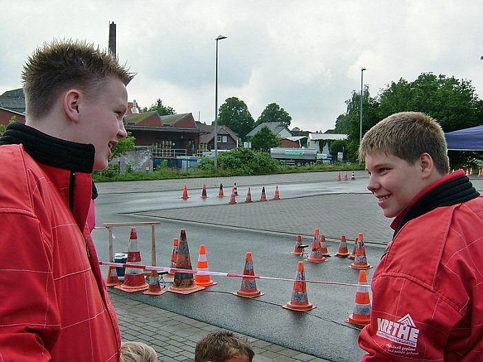 Normen-Marcel Raabe und Fabian Toborg