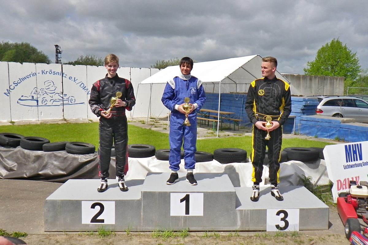 Siegerehrung in Klasse 5: Nico Föge erkämpfte sich einen hervorragenden 2. Platz