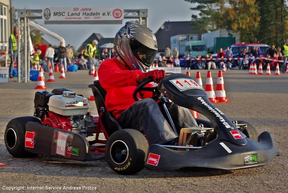 Der RMV Steinenbronn aus Baden-Württemberg hatte Christopher Junge ins Rennen geschickt, der 7. von 14 Fahrern wurde.