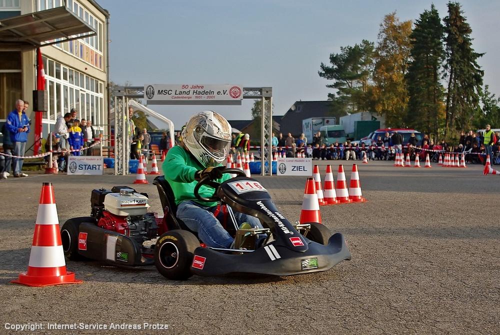 Julia Czipka (9) vom MSF Zotzenbach (Süd-Hessen) wurde Siegerin in Klasse 1.