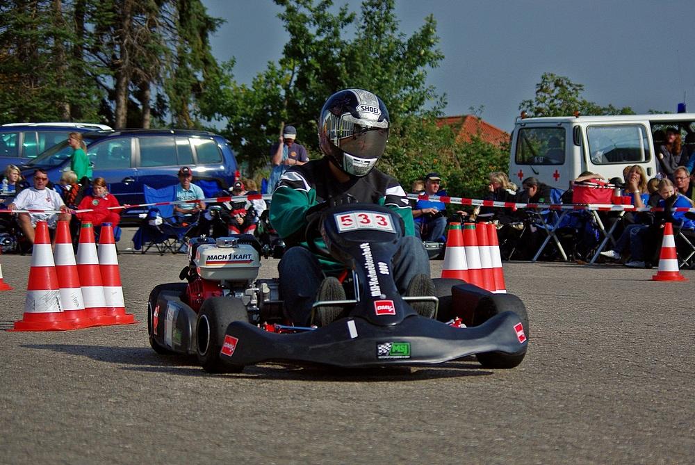 Bei den Fahrern sicherte sich Markus Steinberger (18) aus Klasse 5 vom MSC Vohburg (Bayern) den Tagessieg.