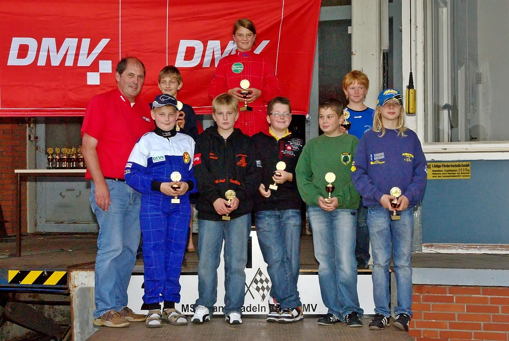 In Klasse 2 gewann Madlen Steeb (MSC Kochersteinsfeld). 2. Maximilian Geigl (MSC Teisendorf) und 3. Ricardo Hammel (TGM ACV/HWRT).