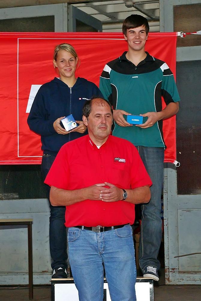 Tagesschnellste Fahrer waren bei den Damen/Mädchen Bettina Kern (MSC Teisendorf) mit einer und bei den Männern/Jungen Markus Steinberger (MSC Vohburg).
